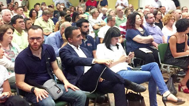 Di Maio incontra eletti ed attivisti