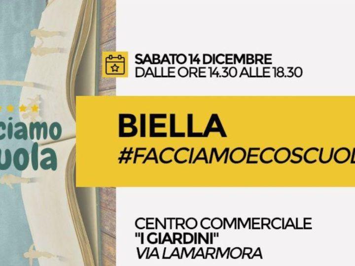 """M5S Biella: """"Facciamo Ecoscuola"""""""