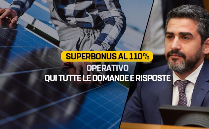 BLOG DELLE STELLE: SUPERBONUS 110%, DOMANDE E RISPOSTE